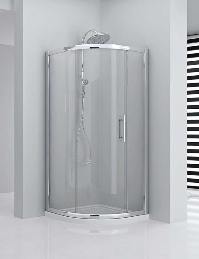 Series 8 Plus One Door Quadrant Shower Enclosure 900