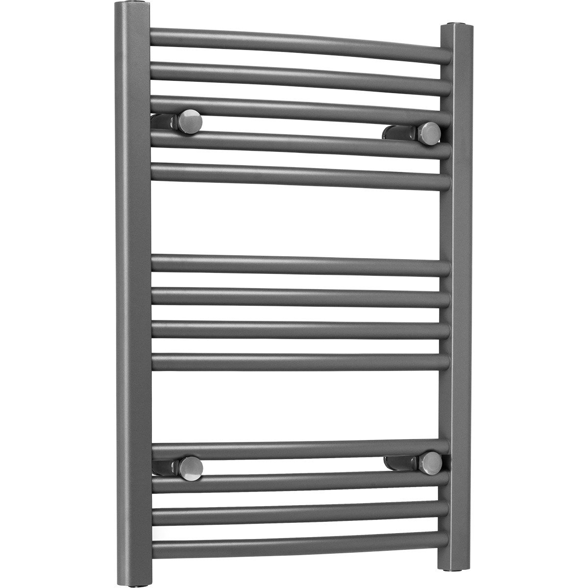 Marco 700 x 500 Curved Grey Heated Towel Rail