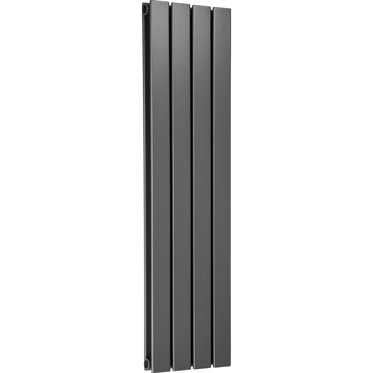 Hudson 1200 x 300 Double Panel Grey Radiator