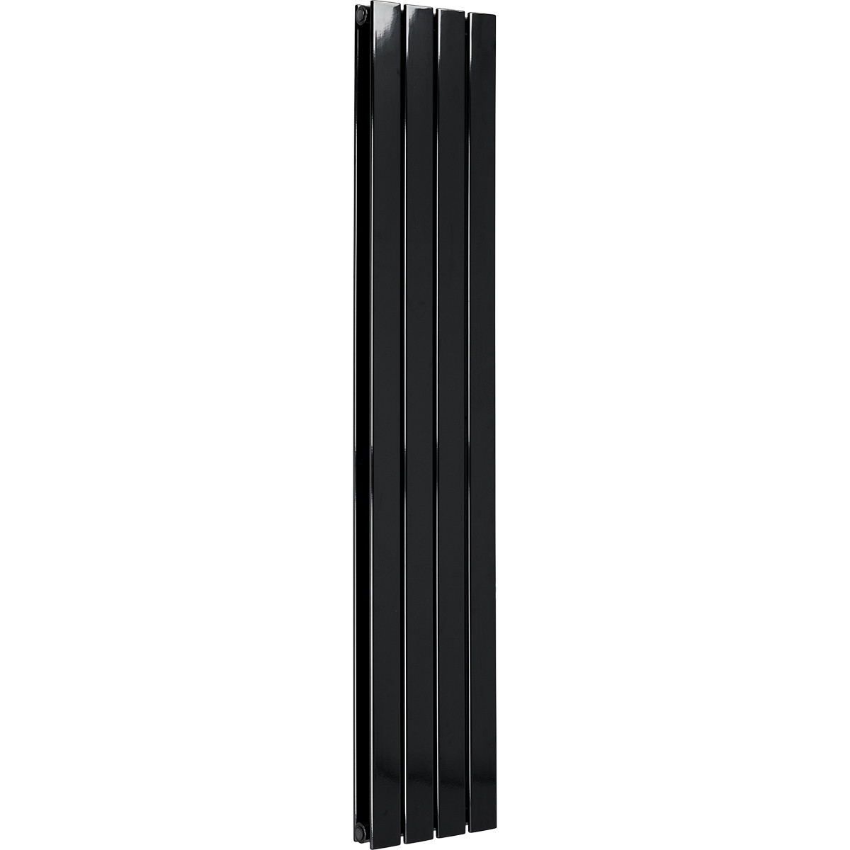 Hudson 1600 x 300 Double Panel Black Radiator