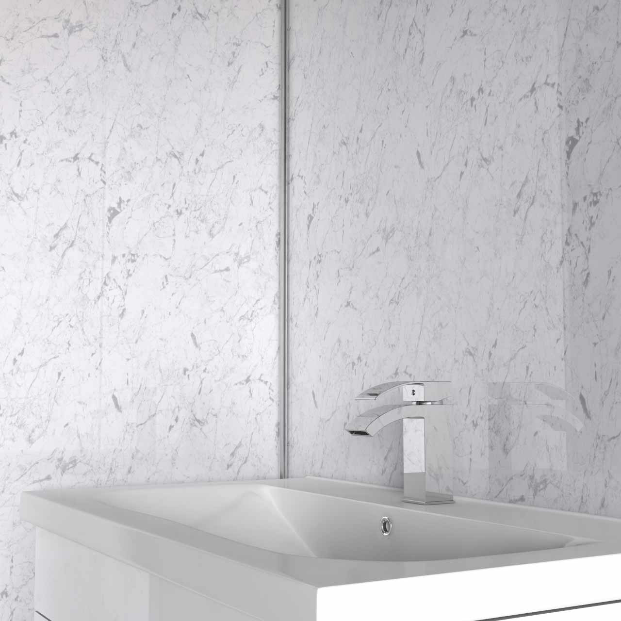 White Quartz Wall Panel 1000x2400x10mm