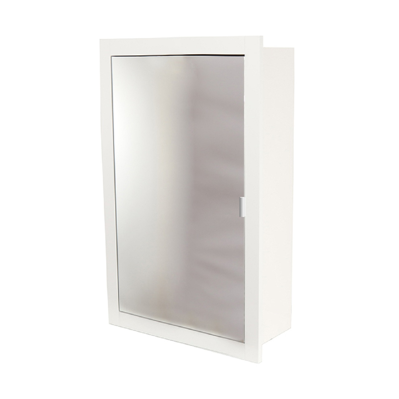 official photos 8b9b5 c2c2d WholeSeal Wetroom White 535mm x 800mm x 211mm Recessed Mirror Cabinet
