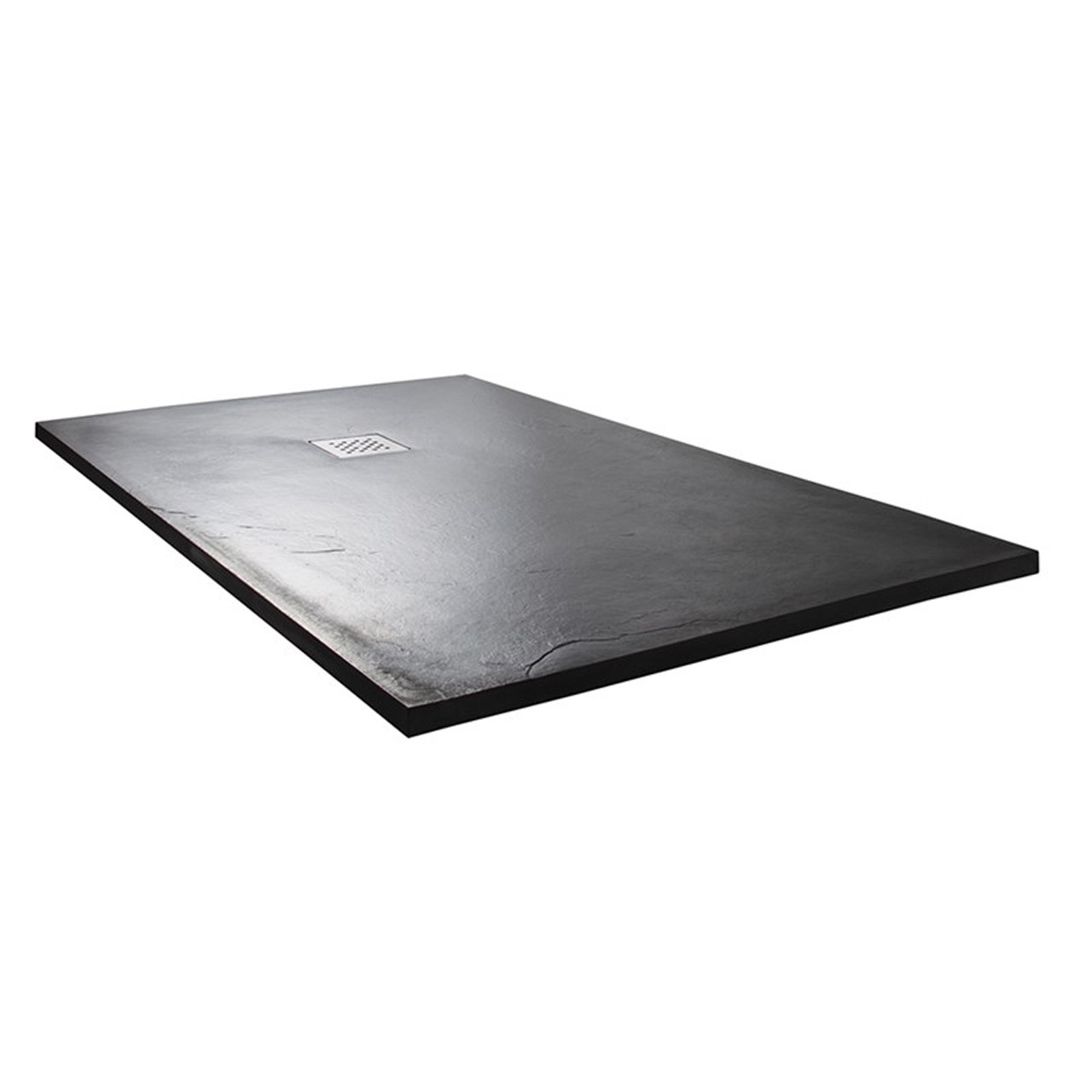 Wholestone Slate 1400mm x 800mm Anthracite Rectangular Shower Tray