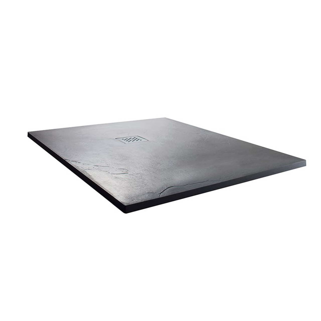 Wholestone Slate 900mm x 900mm Anthracite Square Shower Tray