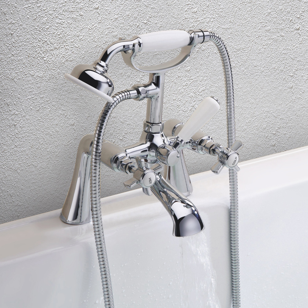 Windsor Traditional Bath Shower Mixer Tap & Kit