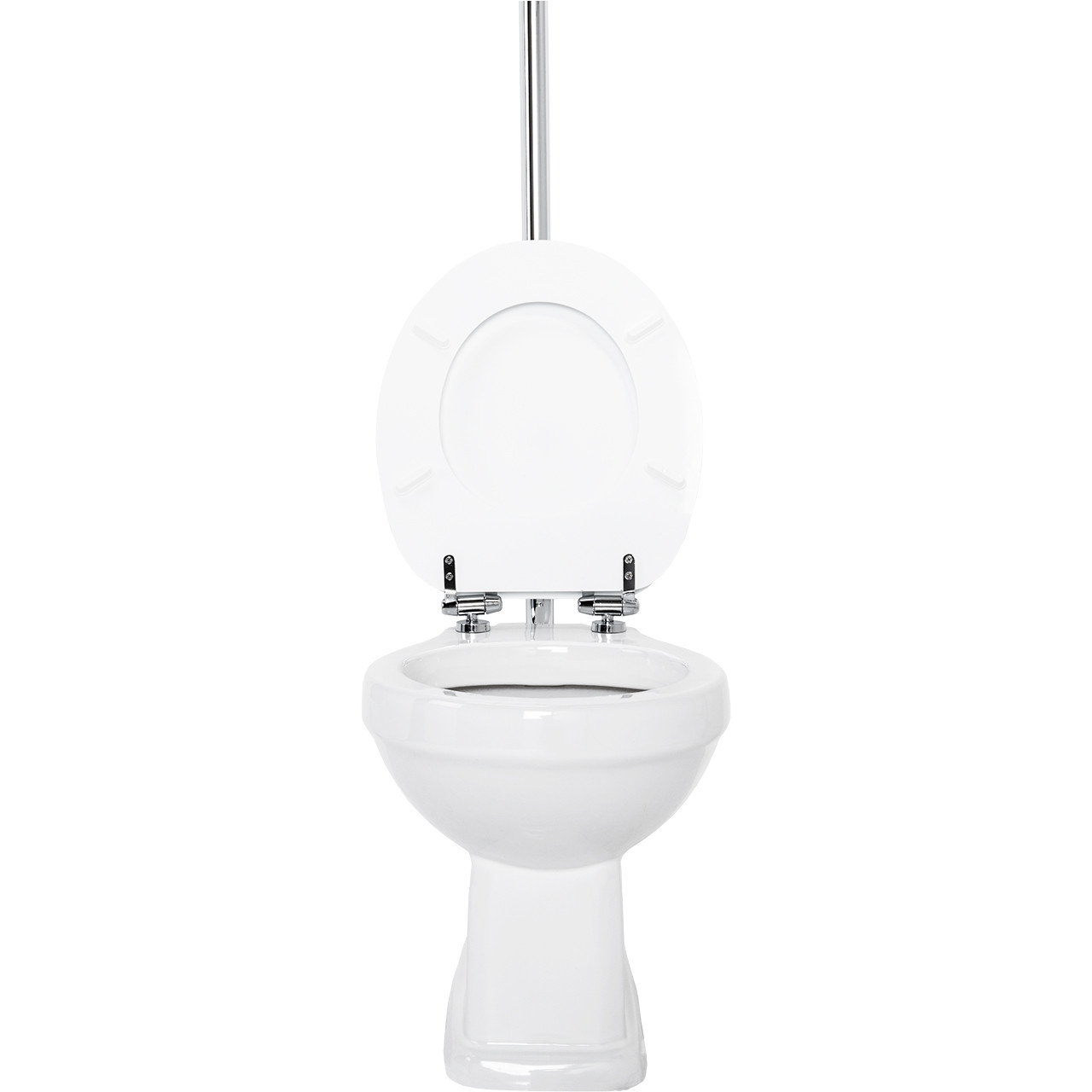 Windsor High Level WC inc Soft Close Seat Front