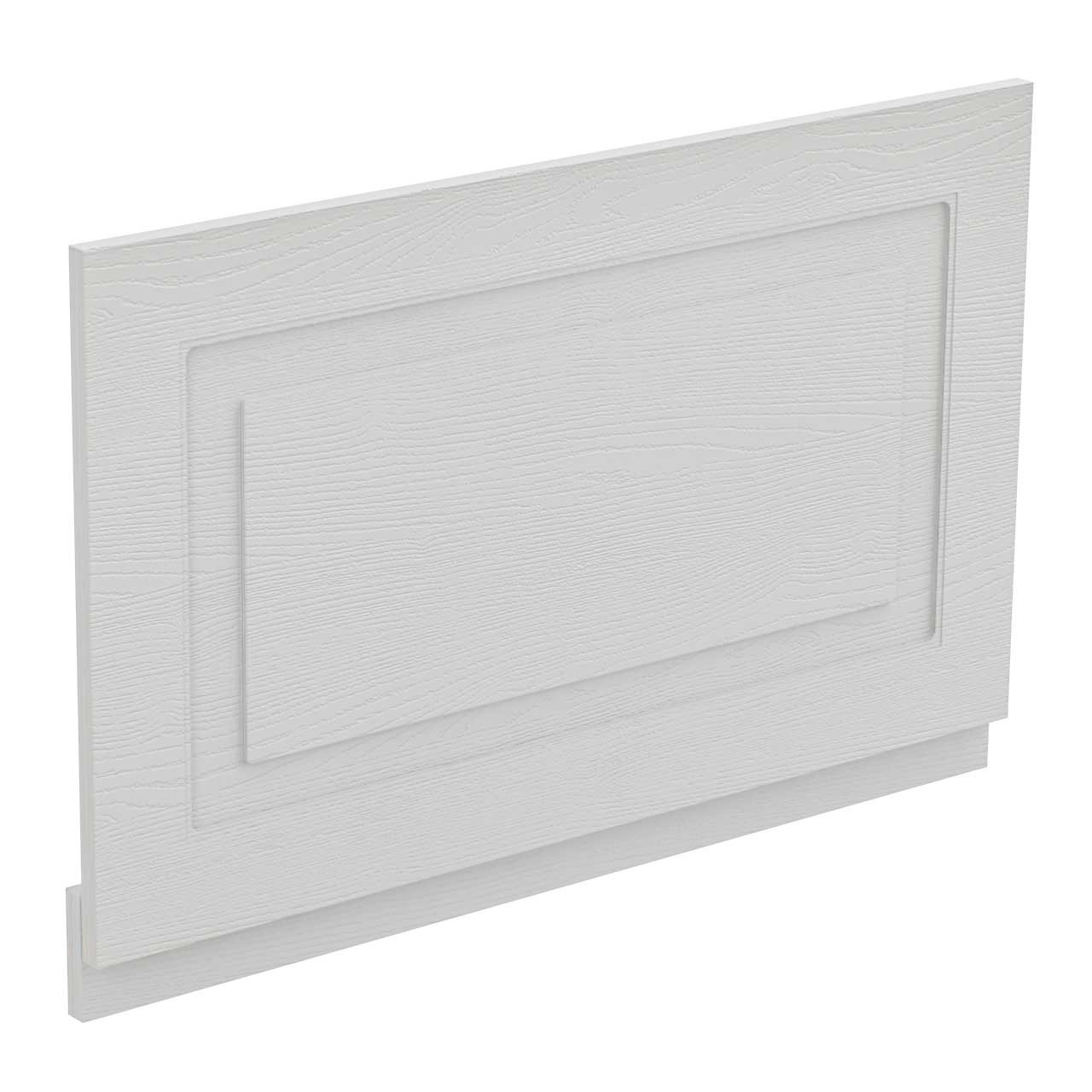 Windsor Traditional White 800mm End Bath Panel with Plinth