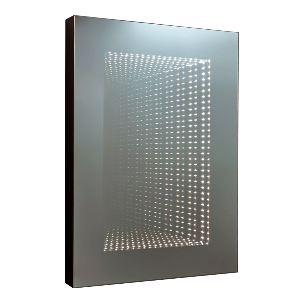 Infinity Rectangle Mirror with Lights