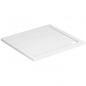 40mm Pearlstone 1000 x 900 Rectangular Shower Tray