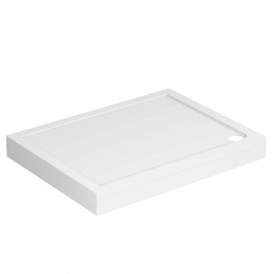 40mm Pearlstone 1200 x 900 Rectangular Shower Tray & Plinth