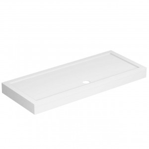 40mm Pearlstone 1700 x 700 Rectangular Shower Tray & Plinth