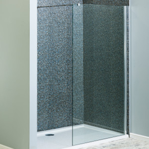 1850mm x 700mm Walk In Glass Shower Screen 8mm