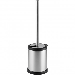 Aero Collection Stainless Steel Satin Toilet Brush & Holder