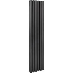 Boone 1600 x 360 Double Panel Grey Radiator