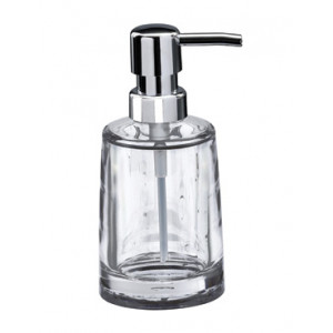 Serene Clear Acrylic Liquid Soap Dispenser