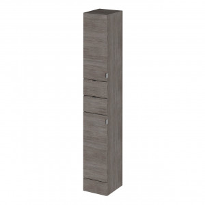 Hudson Reed Grey Avola 300mm Tall Tower Unit - OFF562