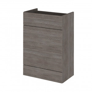 Hudson Reed Grey Avola 600mm WC Unit - OFF548