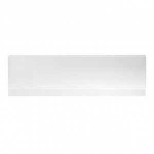 Ideal White 1800mm Acrylic Front Bath Panel