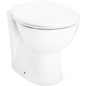 James Back To Wall Toilet with Soft Close Seat
