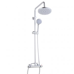 Kappa Thermostatic Rigid Riser Shower System