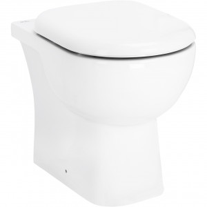 Monza Back To Wall Toilet with Soft Close Seat