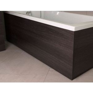 Napoli Black Oak 1700mm Front Bath Panel