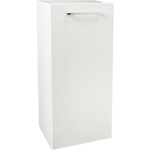 Napoli Gloss White 350 Side Cabinet
