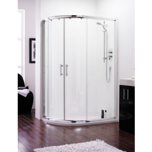 Series 6 Quadrant Offset Shower Enclosure 1200 x  800