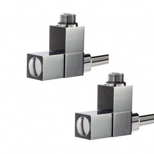 Deluxe Square Angled Radiator Valves