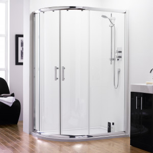 Series 8 Quadrant Offset Shower Enclosure 1000 x 800