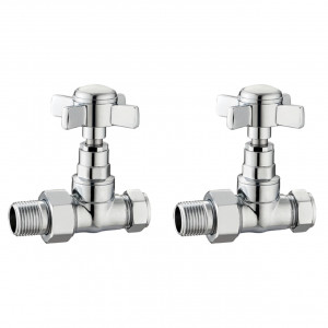 Traditional Straight Radiator Valves