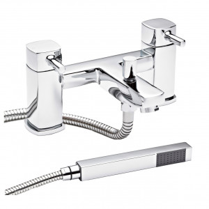 Nuie Munro Bath and Shower Mixer Tap with Shower Kit - TMU304