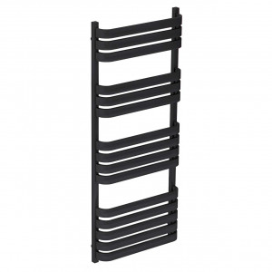 Vasco Anthracite 1200mm x 500mm Heated Towel Rail