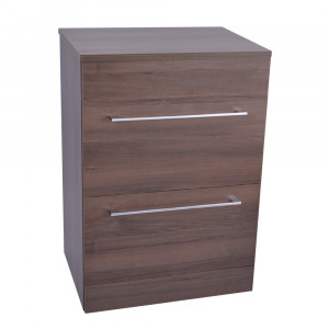 Napoli Walnut 2 Drawer 600 Unit & Top