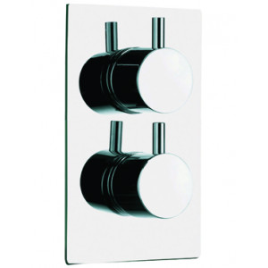 Circo Concealed Twin Thermostatic Shower Valve