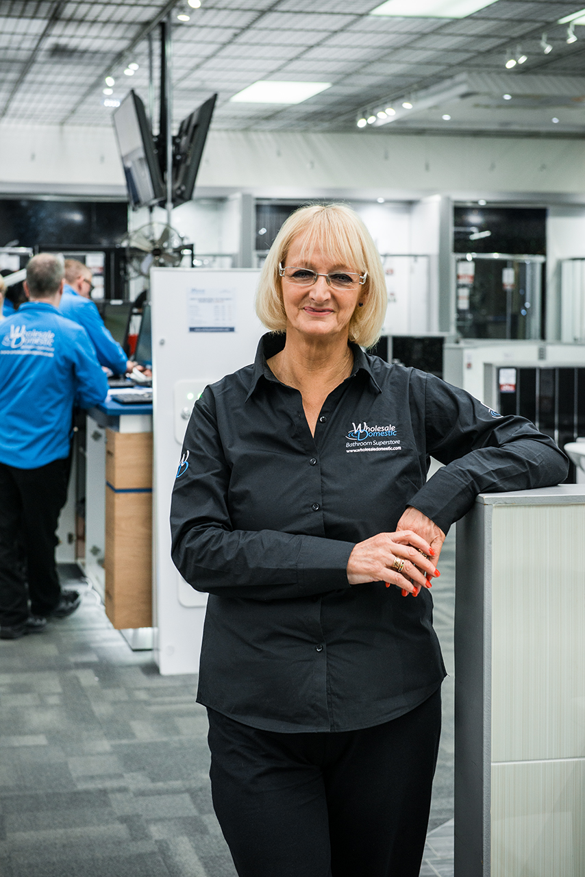 Sylvia has worked at Wholesale Domestic for 30 years!
