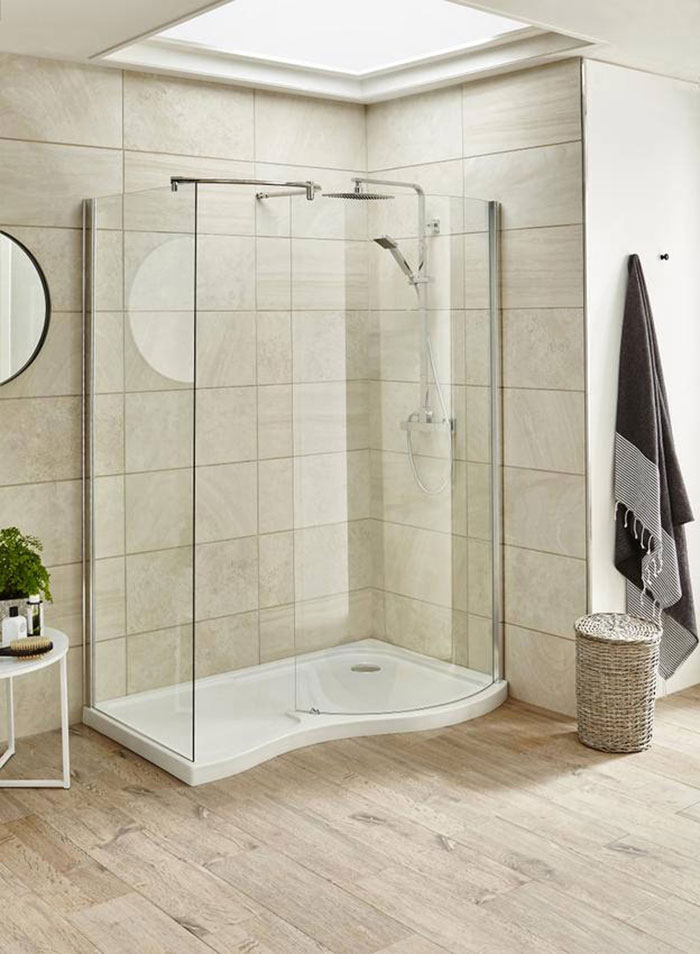 How to Design a His and Hers Bathroom- Double Walk in Shower