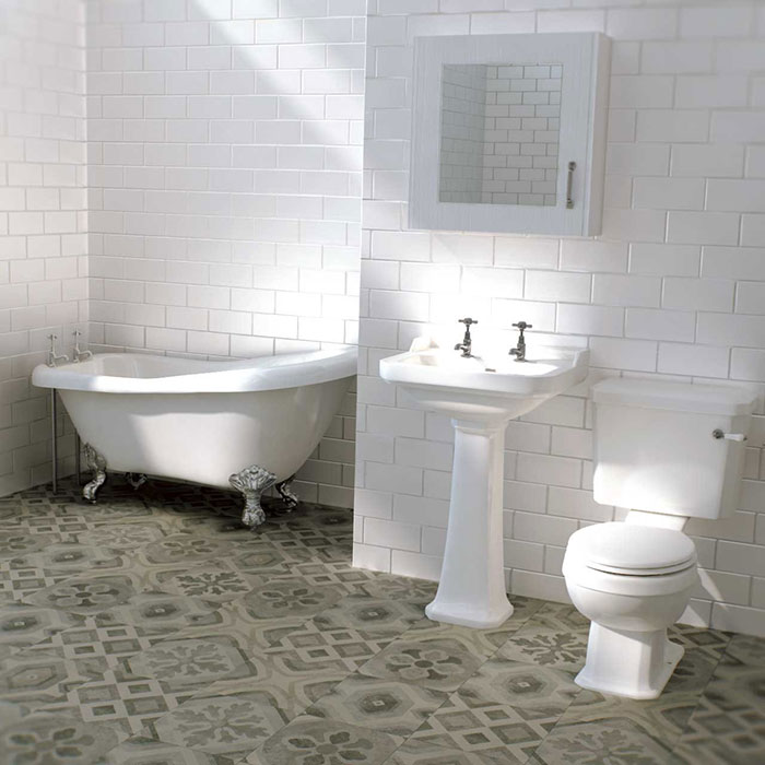 how to create victorian inspired bathroom 6 victorian tiles 11846