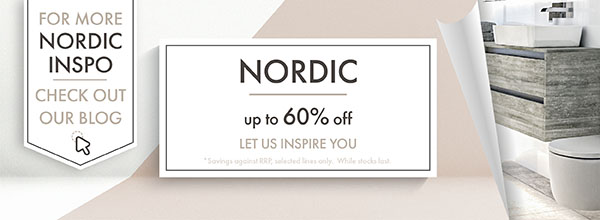 welcome to the nordic range with up to 60 percent savings on products