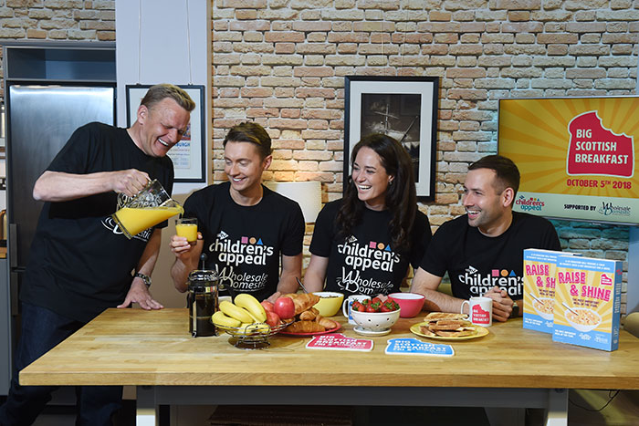Big Scottish Breakfast with STV Children's Appeal