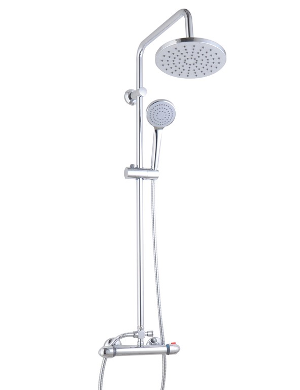 Kappa thermostatic shower system