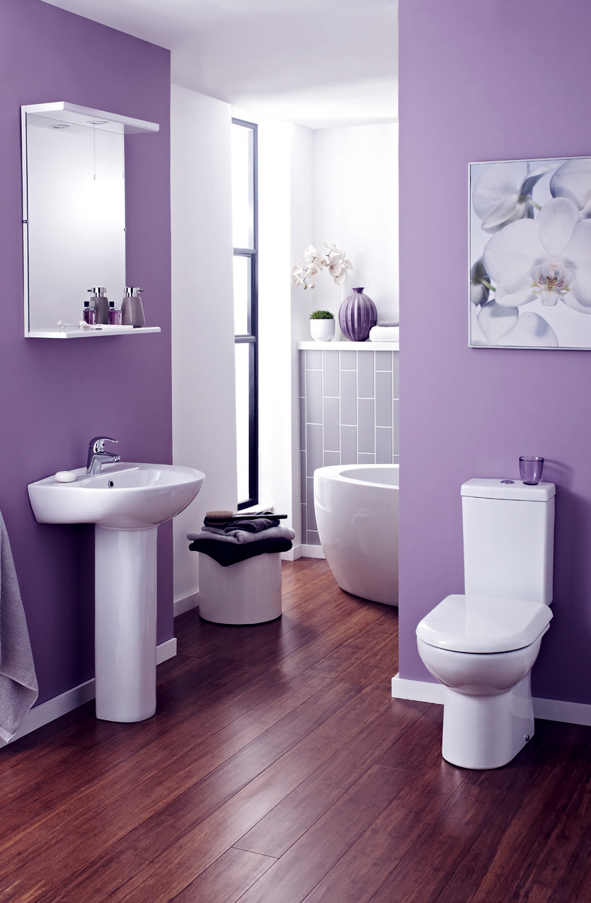 Top 28 purple green bathroom cleveland area history a for Green and purple bathroom ideas