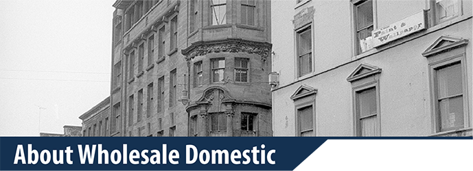 WholeSale Domestic from 1963
