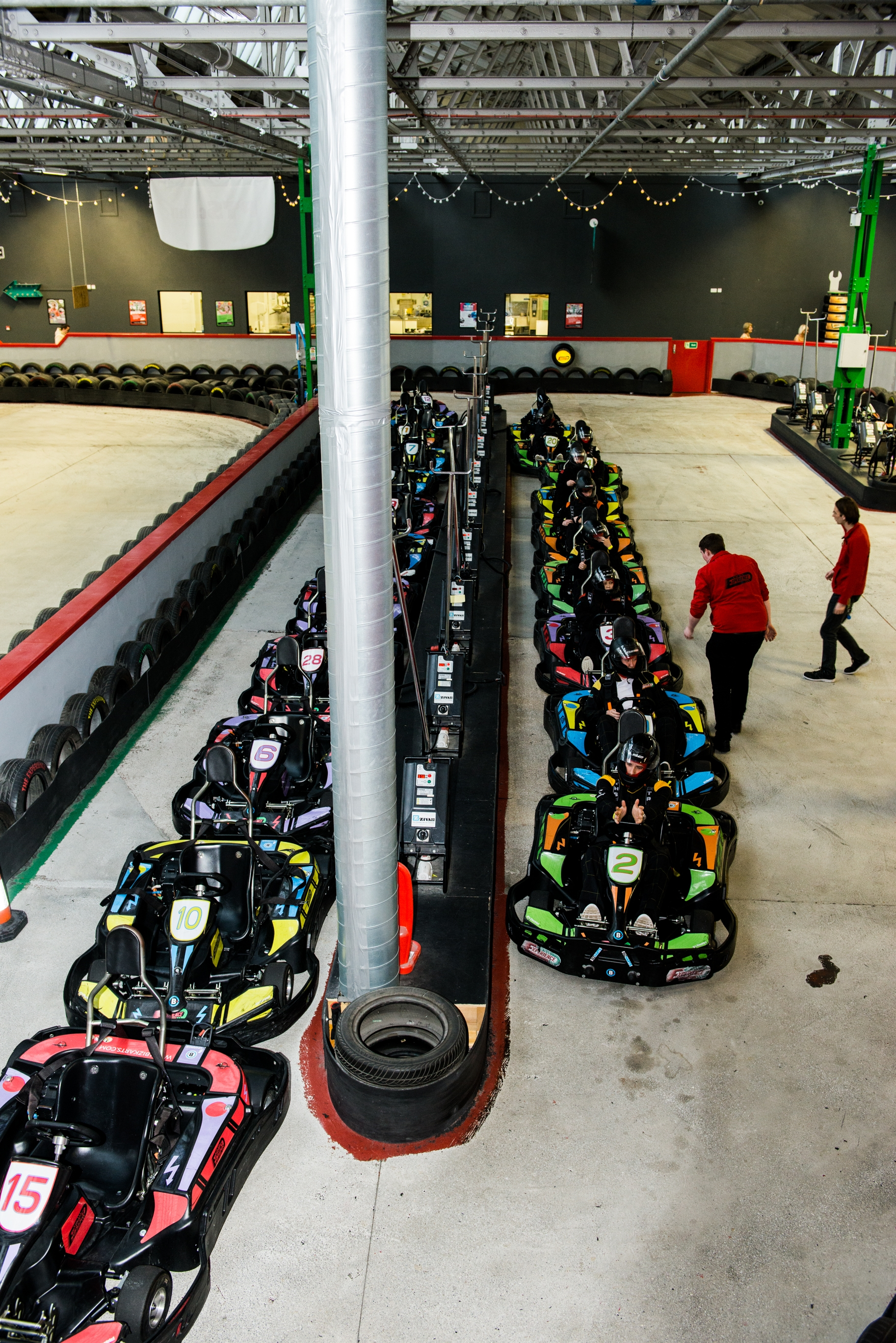 Go karting at the experince